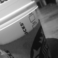 Starbucks hot chocolate at 11 pm. BE PROUD, I'm a rebel.