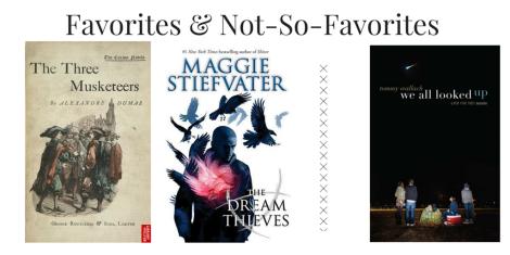 Favorites & Not-So-Favorites